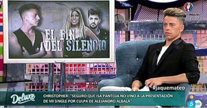 Christopher Mateo habla de Chabelita y Alejandro Albalá en el Deluxe