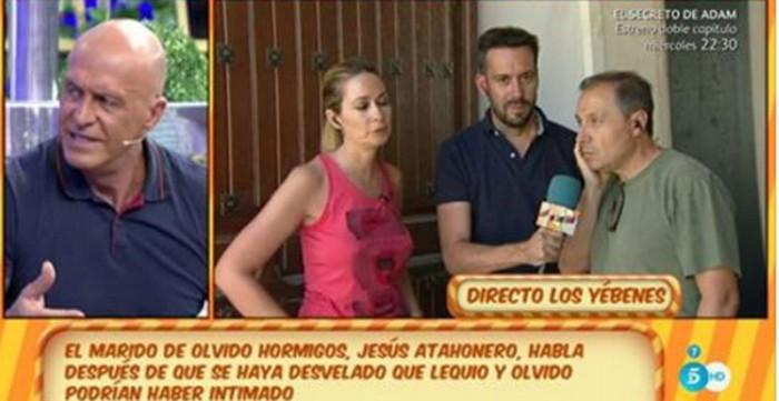 Las consecuencias de la revelación del affaire entre Olvido Hormigos y Alessandro Lequio