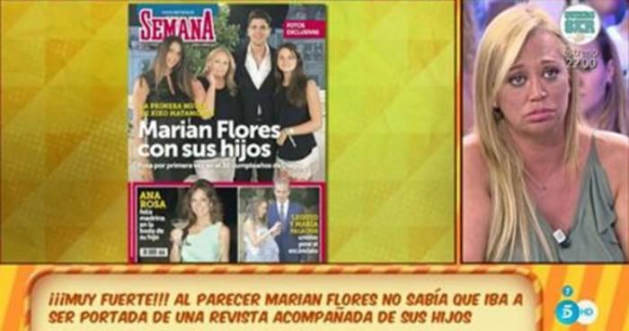 Diego Matamoros enfada a su madre por la portada de Semana