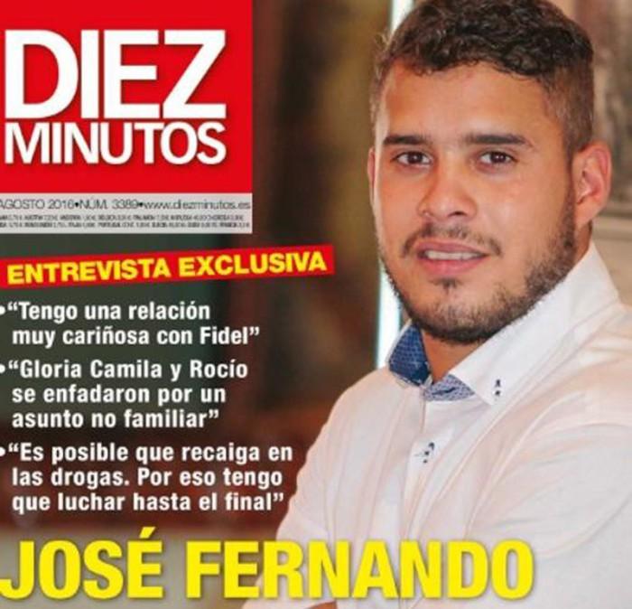 José Fernando dice que Rocío Carrasco le ha invitado a su boda