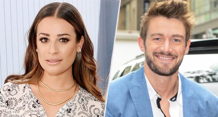 Lea Michele está soltera tras su ruptura con Robert Buckley