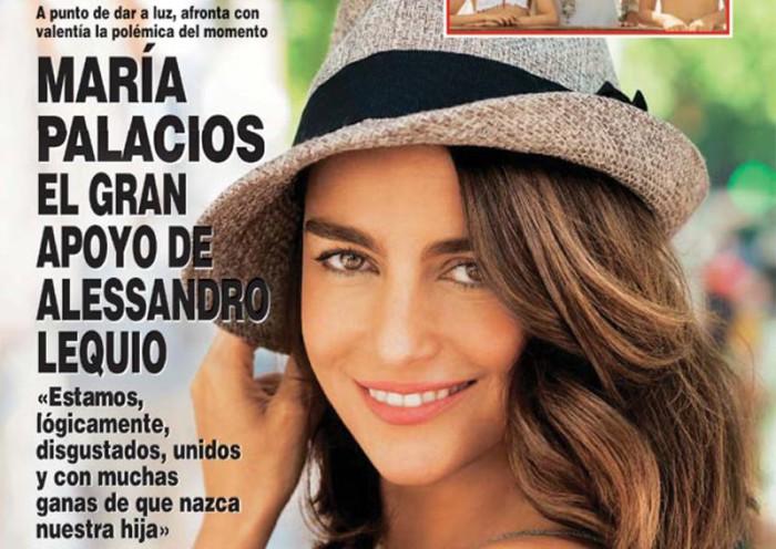 María Palacios sale en defensa de Alessandro Lequio en ¡Hola!