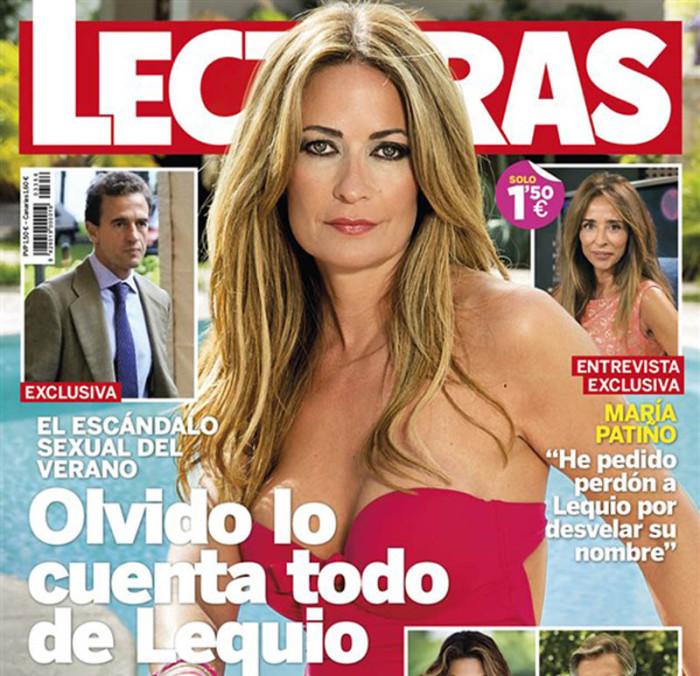 Olvido Hormigos, portada de Lecturas por su affaire con Lequio