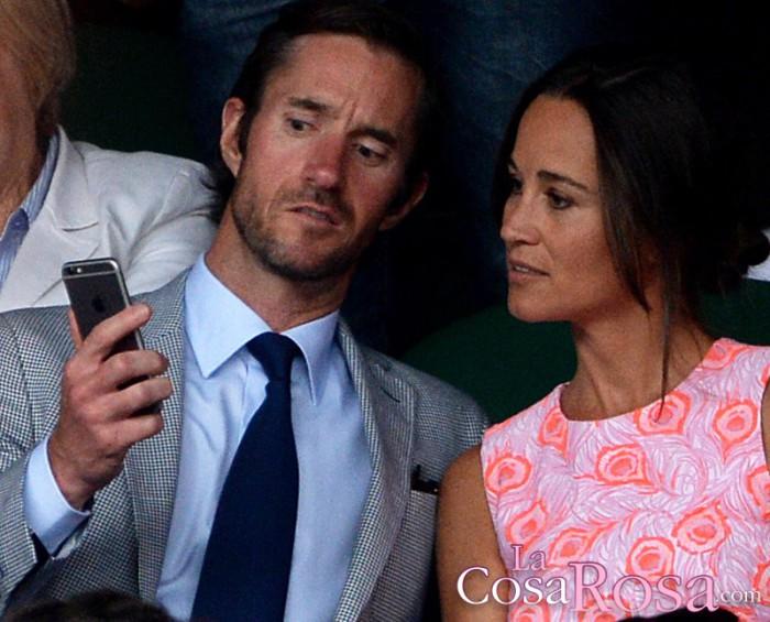 Pippa Middleton y  James Matthews se han comprometido