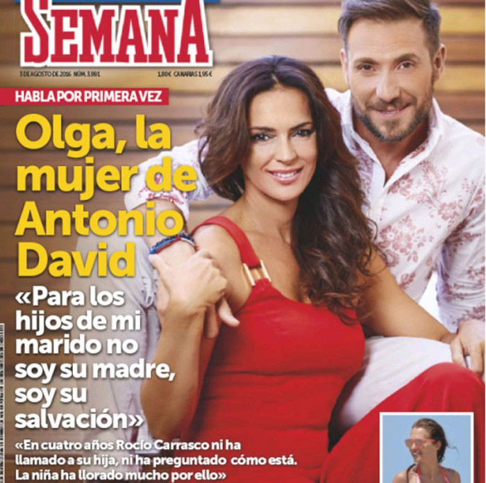 Antonio David Flores desvela que su hija ha querido solucionar sus problemas con su madre