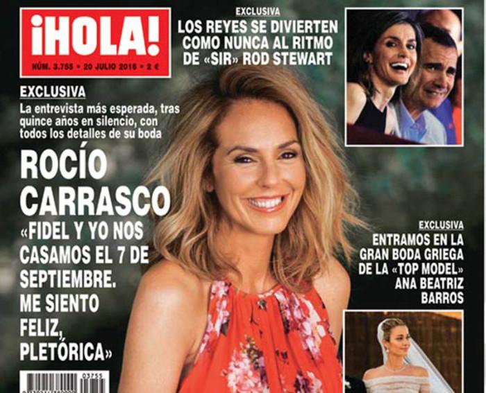 Rocío Carrasco se casa el 7 de septiembre