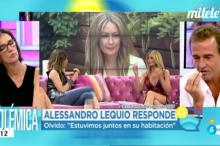 Alessandro Lequio regresa a El programa del verano negando a Olvido Hormigos