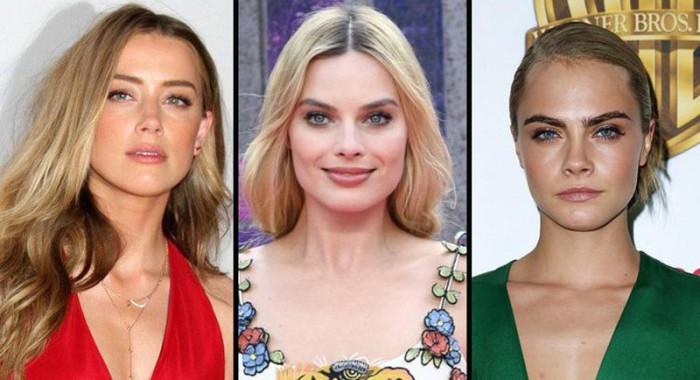 Amber Heard se divierte en Londres con Margot Robbie y Cara Delevingne