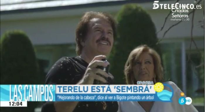 Bigote Arrocet, ¿estrella del segundo programa de Las Campos?