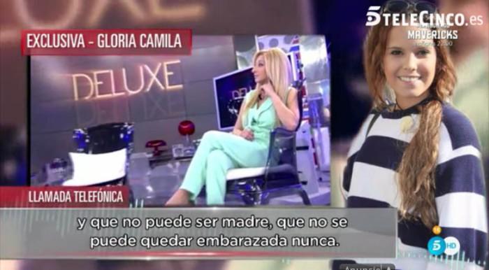 Michu no puede ser madre según Gloria Camila