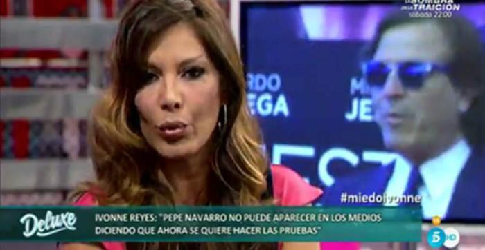Ivonne Reyes le recuerda a Pepe Navarro que tiene cinco hijos