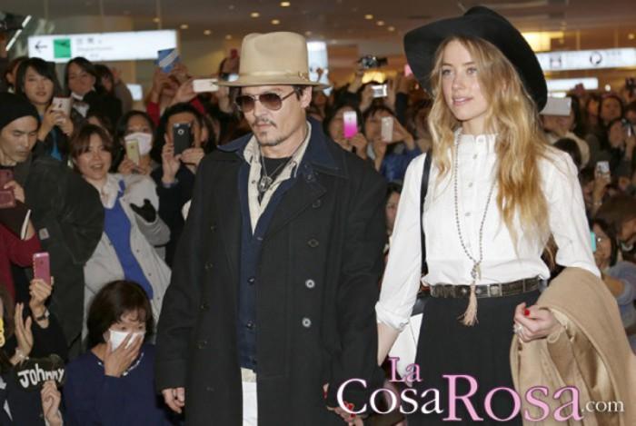 Johnny Depp se hirió tras acusar a Amber Heard de ser infiel con Billy Bob Thornton