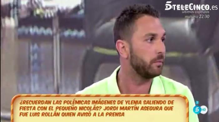 Jordi Martín asegura que Luis Rollán no quería ir a Supervivientes 2016