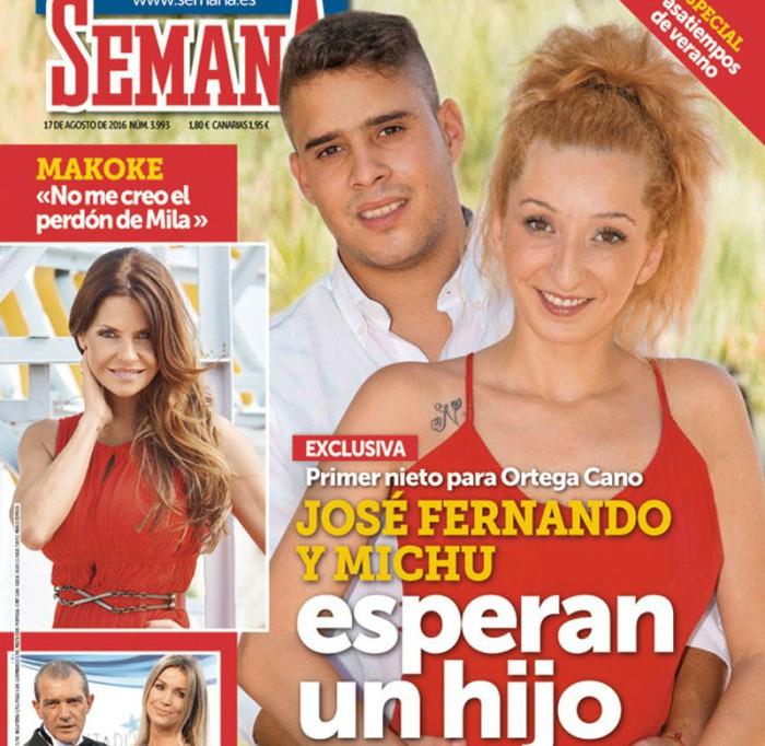 José Fernando y Michu anuncian embarazo en Semana