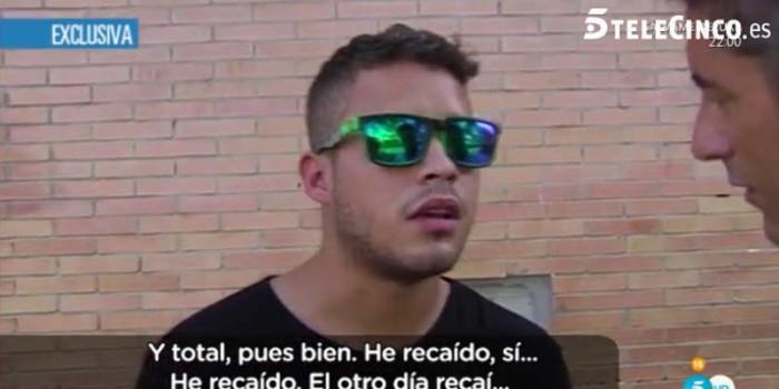 José Fernando reconoce su recaída y defiende a Michu