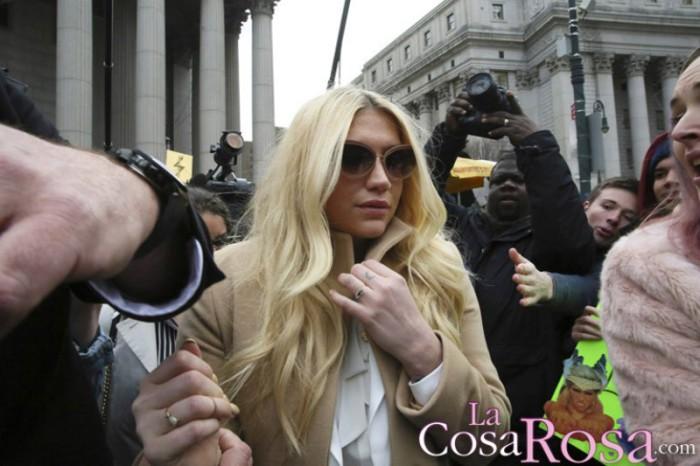 Kesha retira la demanda, por abusos, contra Dr. Luke