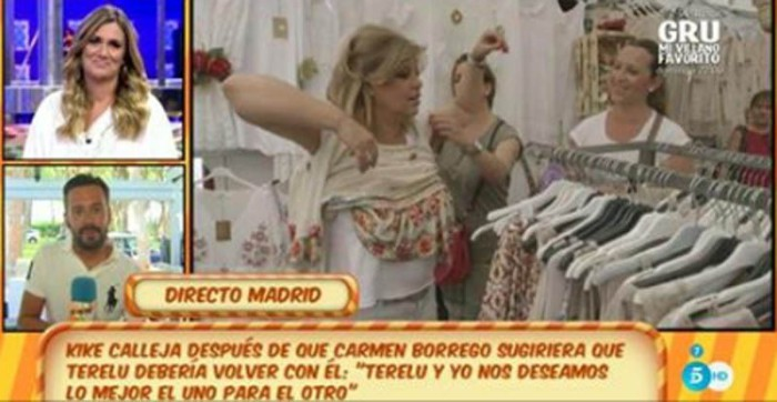 Kike Calleja afirma que lo que siente por Terelu Campos es indescriptible