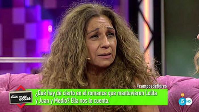 Lolita Flores, intensa entrevista en Hable con Ellas