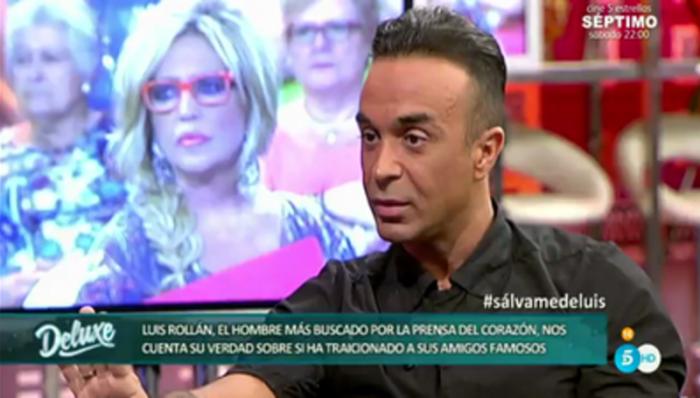 Luis Rollán desvela en Sálvame deluxe haber sido chantajeado