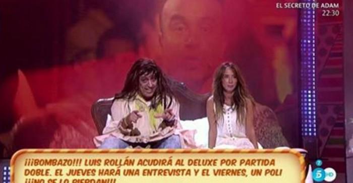 Luis Rollán, esta noche entrevista en el Deluxe y mañana, Polideluxe