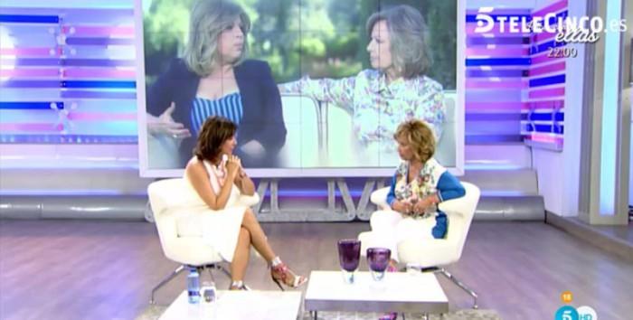 María Teresa Campos comenta Las Campos con Ana Rosa Quintana
