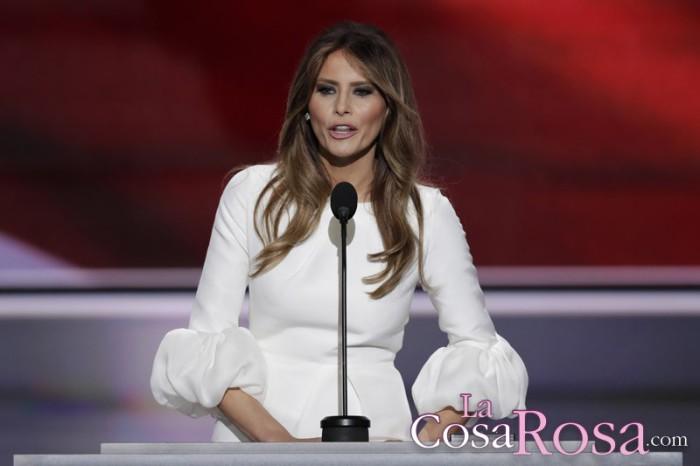 Melania Trump, muy natural en unas fotos publicadas por el New York Post