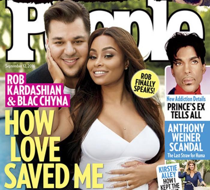 Rob Kardashian habla sobre Blac Chyna y su embarazo, su sobrepeso y sus hermanas