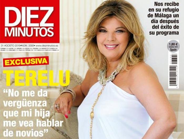 Terelu Campos, exclusiva en Diez Minutos tras el éxito de Las Campos