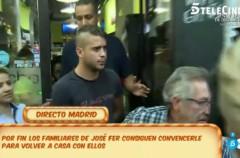 José Fernando Ortega, recogida y fuga retransmitida en directo