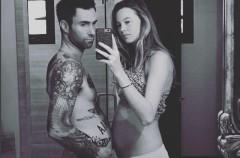 Adam Levine y Behati Prinsloo ya son padres de una niña