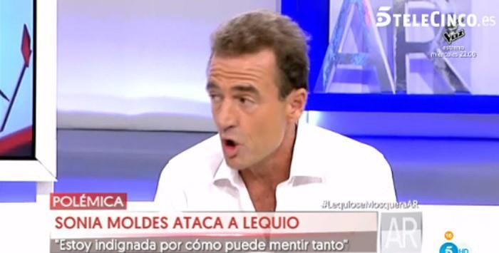 Alessandro Lequio presenta una prueba para desmentir a Sonia Moldes