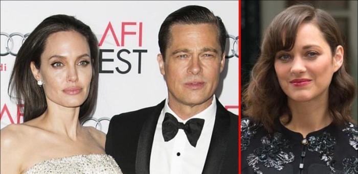 Marion Cotillard devastada al ser acusada de romper el matrimonio de Angelina Jolie y Brad Pitt