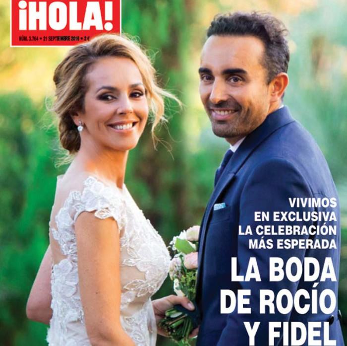 A Mila Ximénez le pareció un paripé la boda de Rocío Carrasco y Fidel Albiac
