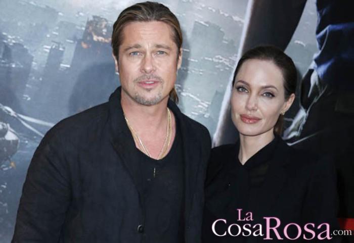 Brad Pitt, sorprendido por el divorcio, quiere la custodia compartida
