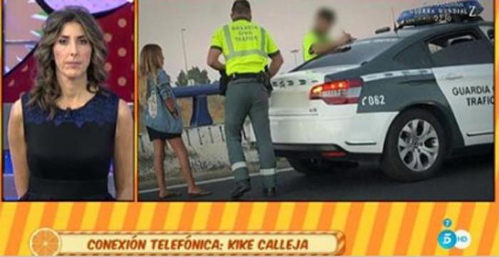 Chabelita multada tras haber superado el límite de alcoholemia
