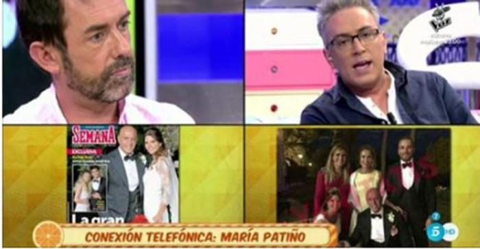 Jesús Manuel Ruiz confiesa haber filtrado la foto de Carlota Corredera en la boda de Matamoros