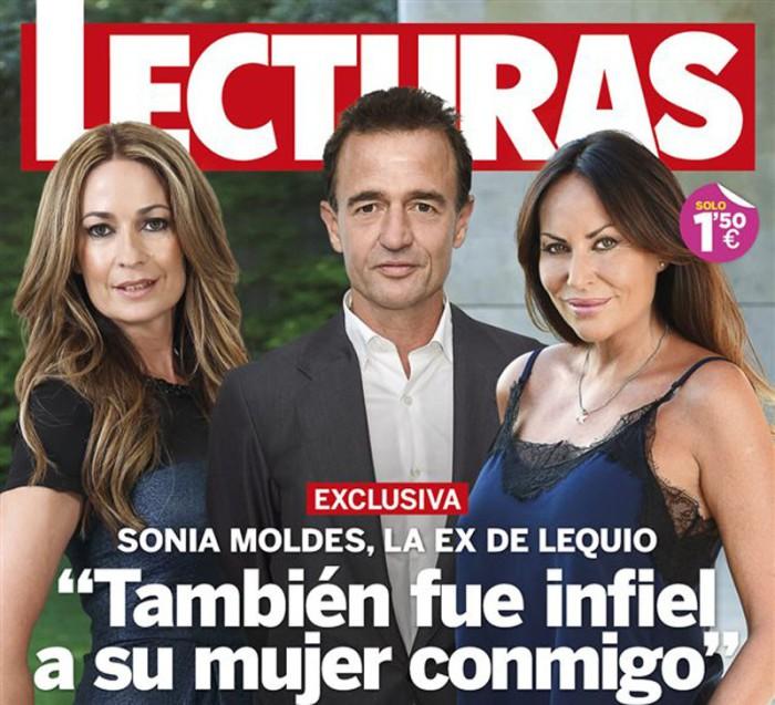 Alessandro Lequio habría sido infiel a María Palacios con Sonia Moldes