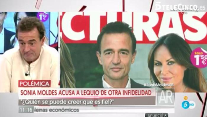 Alessandro Lequio niega haber sido infiel a su esposa con Sonia Moldes