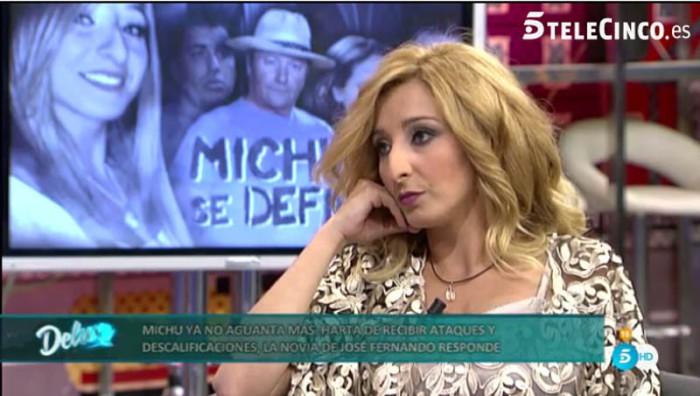 Michu afirma que José Fernando recayó cuando ella abortó