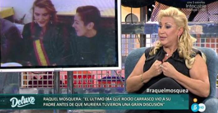 Raquel Mosquera se sincera y carga contra Rocío Carrasco en Sálvame deluxe