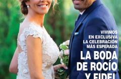 Rocío Carrasco y Fidel Albiac, exclusiva de su boda en la edición especial de ¡Hola!