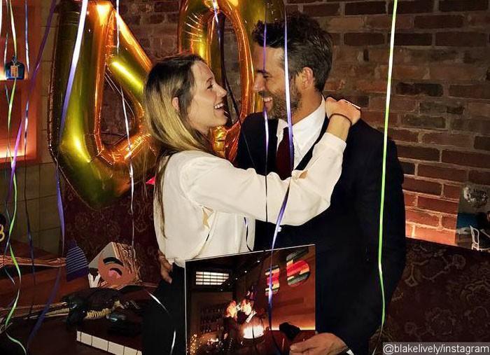 Blake Lively celebra el 40 cumpleaños de Ryan Reynolds ajena a los rumores