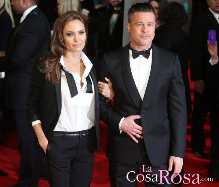 Angelina Jolie infiel a Brad Pitt con un millonario