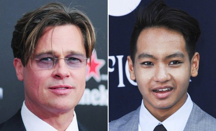 Brad Pitt y Maddox vuelven a verse junto a un terapeuta