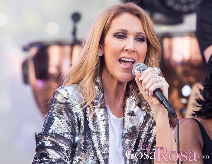 Céline Dion solo ha besado de forma romántica a su fallecido marido René Angélil
