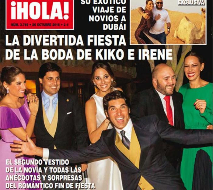 Chabelita, molesta con ¡Hola!, dará una exclusiva para hablar de la boda de su hermano