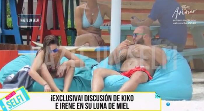 Kiko Rivera e Irene Rosales no median palabra en el viaje de regreso tras su luna de miel