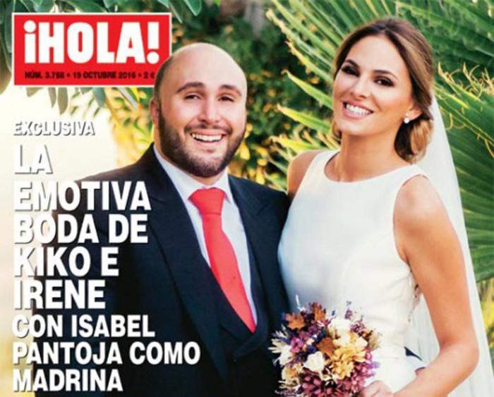 Kiko Rivera, Irene Rosales e Isabel Pantoja protagonistas de la portada de ¡Hola!
