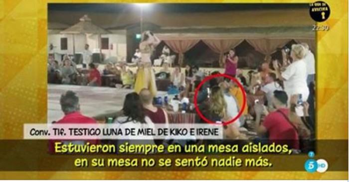 Kiko Rivera e Irene Rosales se quejan de que los paparazzi les sigan en su luna de miel