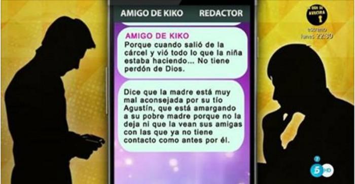 Kiko Rivera se pone nervioso por la aparición de unos mensajes antes de su boda